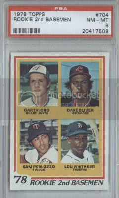 [Image: 1978Topps704LouWhitakerRC.jpg]