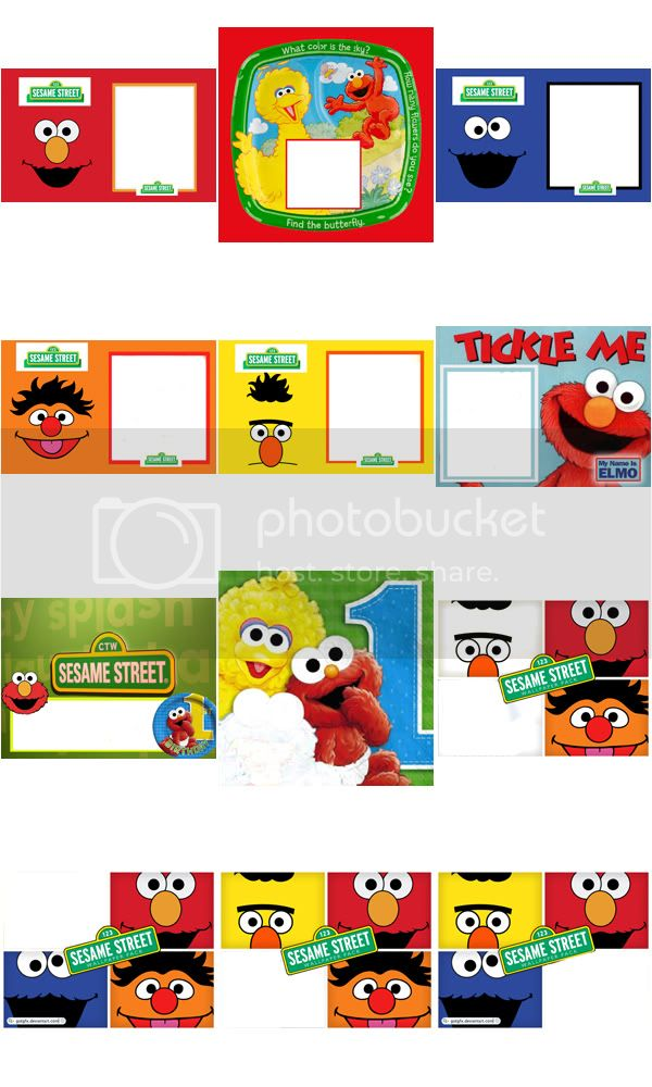 Elmo Frames