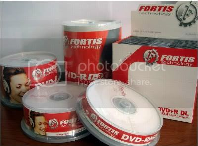 Branded Fortis Technology DVD-R